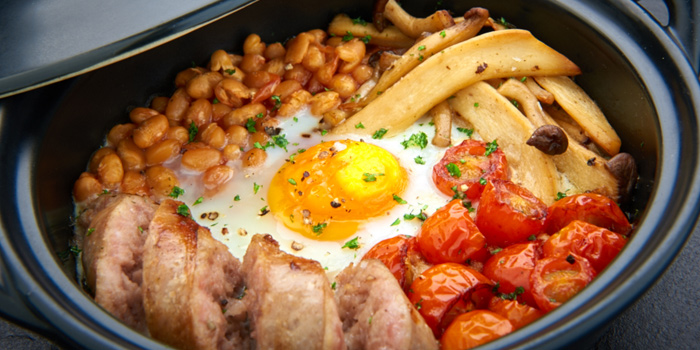 English Breakfast Cocotte from D
