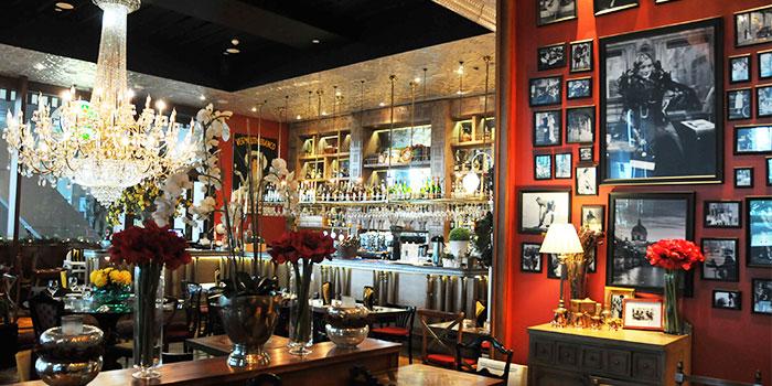 Interior of Folks Collective - The Grand Brasserie (Asia Square) in Marina Bay, Singapore