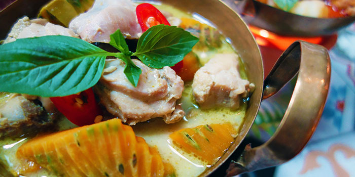 Green Curry Chicken from Folks Collective - The Eclectic Emporium (AXA Tower) in Tanjong Pagar, Singapore