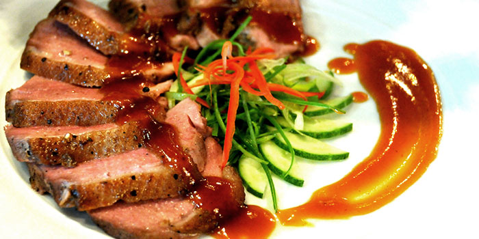 Tarmarind Duck from Folks Collective - The Grand Brasserie (Asia Square) in Marina Bay, Singapore