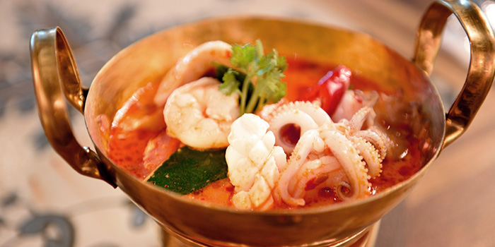Tom Yum Soup from Folks Collective - The Grand Brasserie (Asia Square) in Marina Bay, Singapore