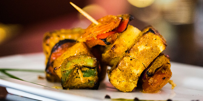 Vegetarian Skewers from Flying Monkey in Bugis, Singapore