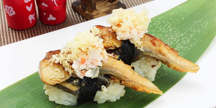 Fancy Unagi Sushi from Shin Minori Japanese Restaurant in Robertson Quay, Singapore