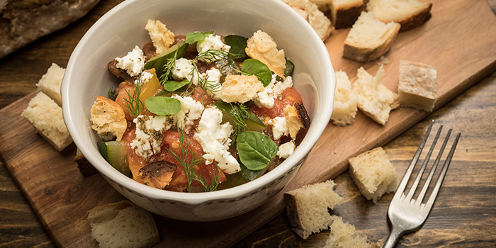 Heirloom Tomato Pickled Cucumber Feta from Firebake - Woodfired Bakehouse & Restaurant in East Coast, Singapore