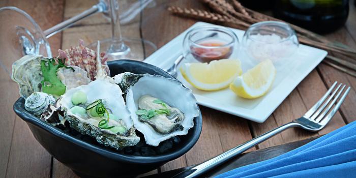 Oyster from The Reflexions at Plaza Athénée Bangkok, A Royal Meridien Hotel, Bangkok