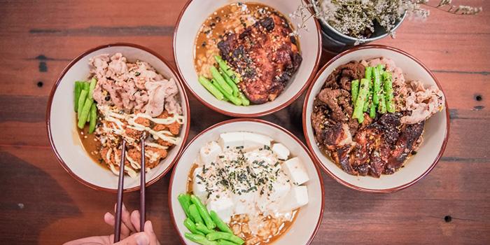 Food Spread from Ho-Jiak in Tanjong Pagar, Singapore