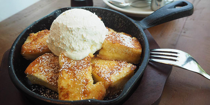French Toast from Hoshino Coffee (Plaza Singapura) in Dhoby Ghaut, Singapore