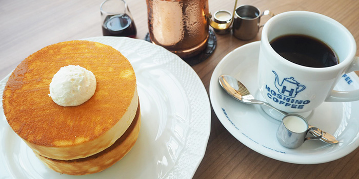 Pancake Souffle Style from Hoshino Coffee (Plaza Singapura) in Dhoby Ghaut, Singapore