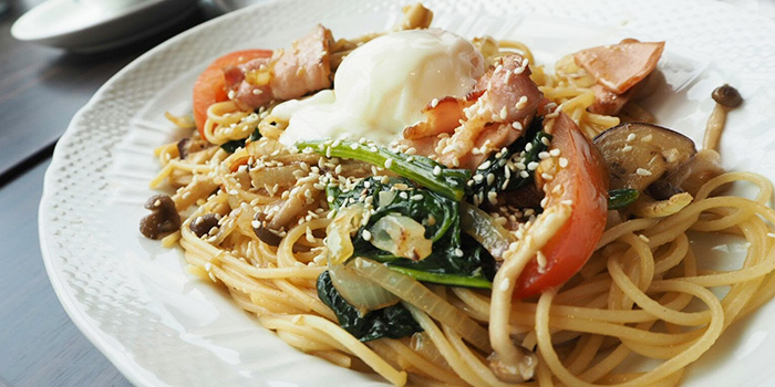 Spaghetti from Hoshino Coffee (Plaza Singapura) in Dhoby Ghaut, Singapore