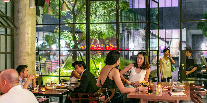 Indoor of TORO at 72 Courtyard FL 1, 72 Sukhumvit 55 Thonglor, Bangkok