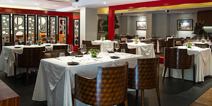 Dining Area of Alma By Juan Amador at Goodwood Park Hotel in Orchard, Singapore