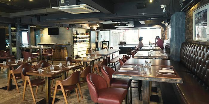 Interior, SPARK Bar & Restaurant, Stanley, Hong Kong