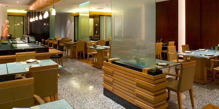 Interior of Utage at Plaza Athénée Bangkok, A Royal Meridien Hotel, Bangkok