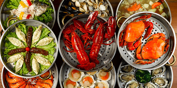 9 Tier Seafood Tower from K-Tower on Amoy Street in Tanjong Pagar, Singapore