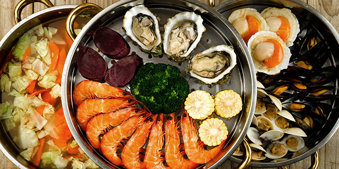 Seafood Tower from K-Tower on Amoy Street in Tanjong Pagar, Singapore
