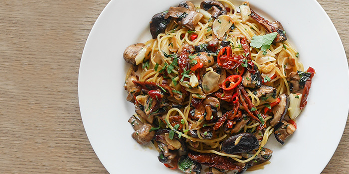 Aglio Olio from Kith Cafe (Winsland House II) in Orchard, Singapore