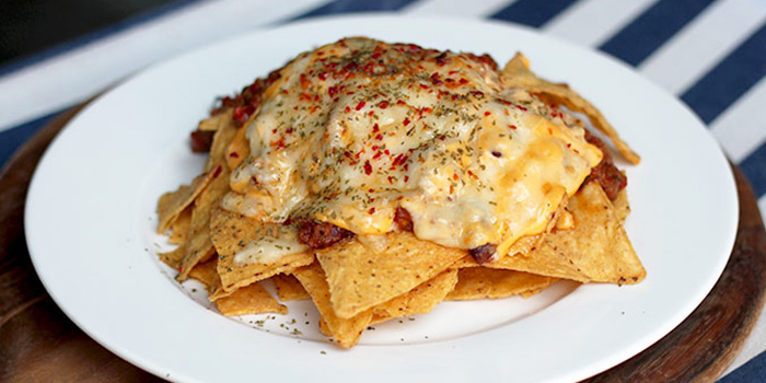 Chilli Cheese Nachos from Kontiki in Kallang, Singapore