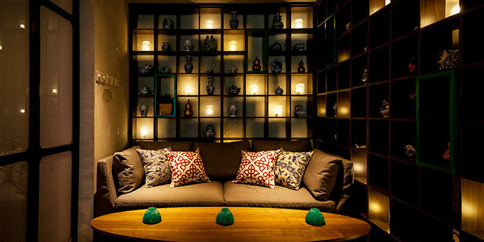 Lounge Area of Lucky Bar in Holland Village, Singapore