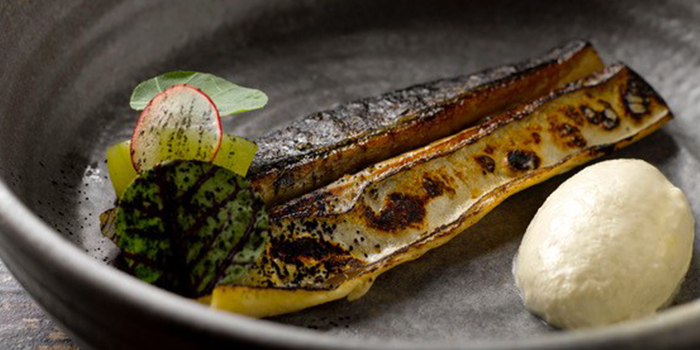 Mackerel from Salted & Hung on Purvis Street in Bugis, Singapore