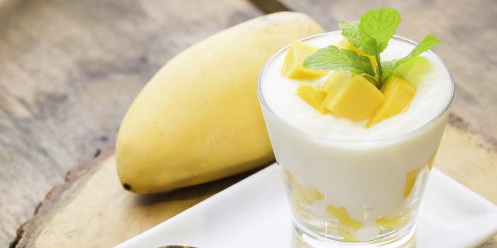 Mango Yogurt from ELLA Bar & Bistro in Patong, Phuket, Thailand.