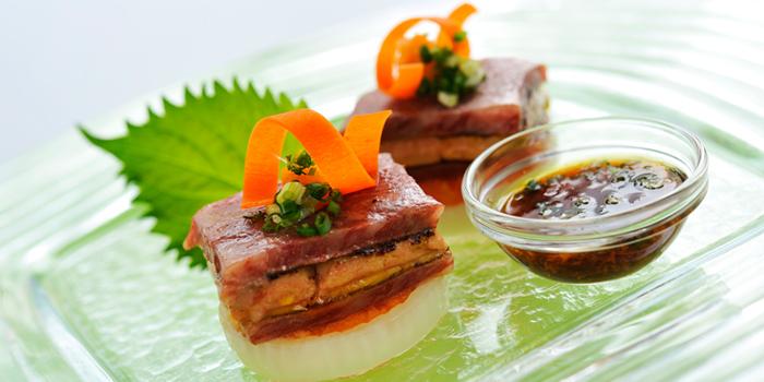 Matsuzaka Beef Foie Gras from Utage at Plaza Athénée Bangkok, A Royal Meridien Hotel, Bangkok