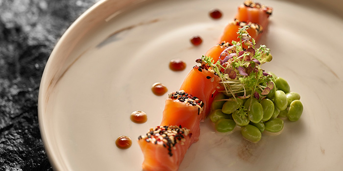 Salmon Sashimi from Muse Amuse in Chinatown, Singapore