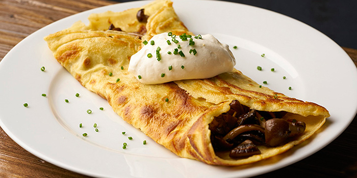 Mushroom Crepes from Ninethirty in East Coast, Singapore