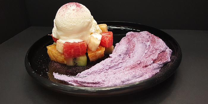 Sweet Potato with Ice Cream from Nunsaram in Serangoon Gardens in Serangoon, Singapore