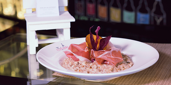 Parma Ham Mushroom Risotto, Eatbar, Stanley, Hong Kong
