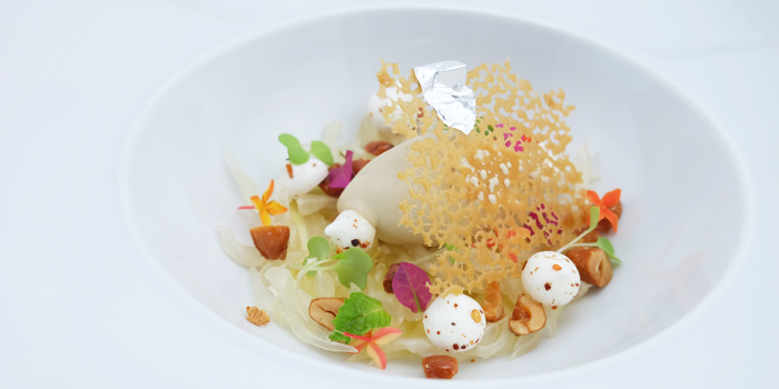 Pomelo With Vanilla And Brown Sugar from The Reflexions at Plaza Athénée Bangkok, A Royal Meridien Hotel, Bangkok