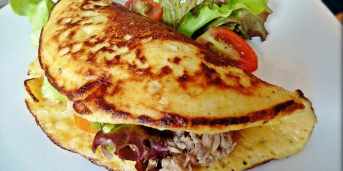 Potato Pancake from ELLA Bar & Bistro in Patong, Phuket, Thailand.