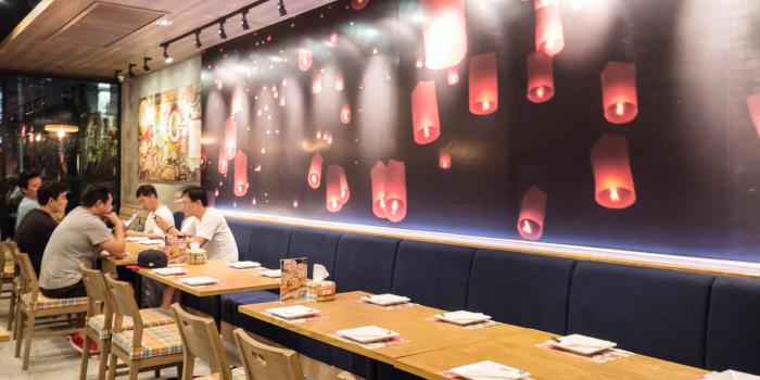 Restaurant Ambience of Zabtaetae Thai Spicy Restaurant in Maung, Phuket, Thailand