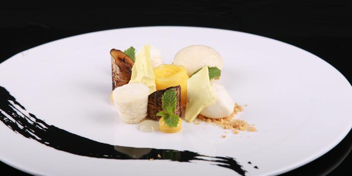 Roasted Banana With Lime, Honey And Mango from The Reflexions at Plaza Athénée Bangkok, A Royal Meridien Hotel, Bangkok