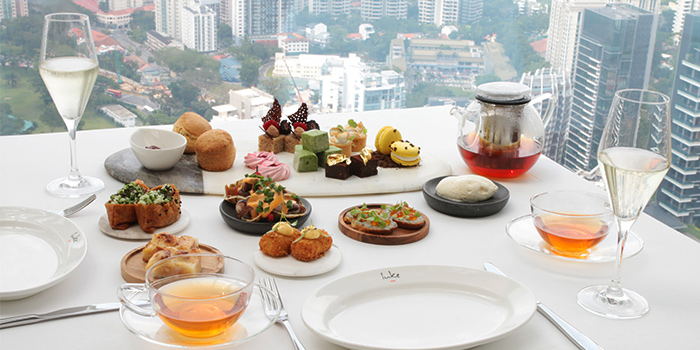 Afternoon Tea Spread from Salt Grill & Sky Bar at Ion Orchard, Singapore