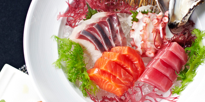 Sashimi from The Rain Tree Café at Plaza Athénée Bangkok, A Royal Meridien Hotel, Bangkok