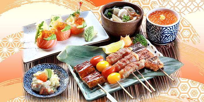 Kushiyaki Maki from Shin Kushiya at VivoCity in Harbourfront, Singapore