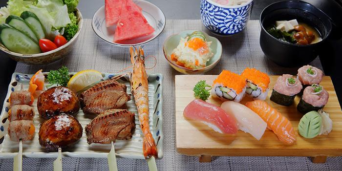 Set Meal from Shin Kushiya at VivoCity in Harbourfront, Singapore