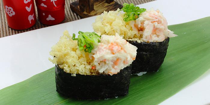 Crunchy Kani Sushi from Shin Minori Japanese Restaurant in Robertson Quay, Singapore