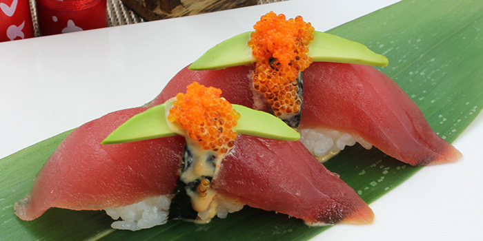 Karashi Maguro Sushi from Shin Minori Japanese Restaurant in Robertson Quay, Singapore