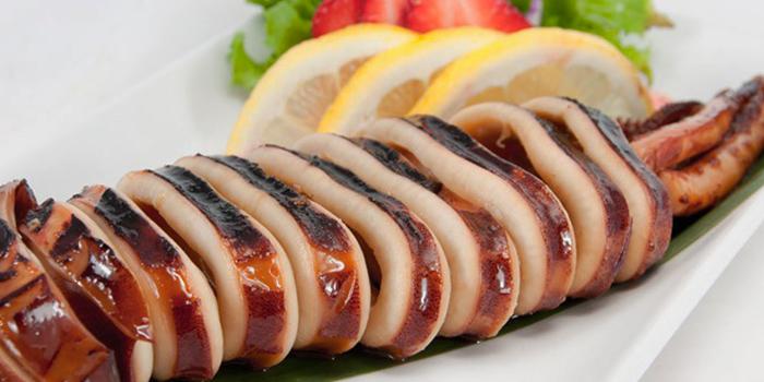 Grilled Japanese Squid from Showa Hakata Ramen & Izakay in Jurong, Singapore