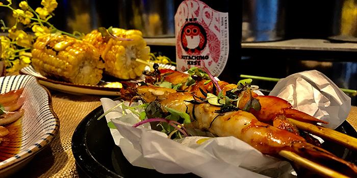 Shrimp Skewer, Cirqle, Aberdeen, Hong Kong