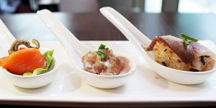 Amuse Bouche from Spark Restaurant in Paya Lebar, Singapore