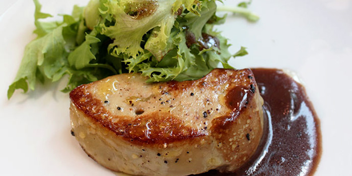 Pan-seared Foie Gras from Spark Restaurant in Paya Lebar, Singapore