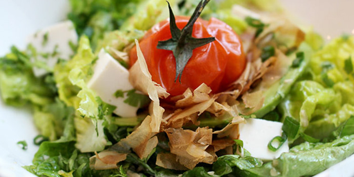 Tofu & Avocado Salad from Spark Restaurant in Paya Lebar, Singapore
