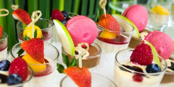 Sunday Brucnh Desserts from Dream Beach Club in Layan, Phuket, Thailand