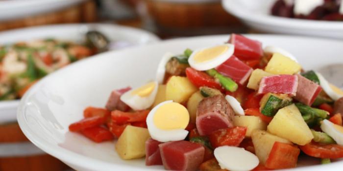Sunday Brucnh Salads from Dream Beach Club in Layan, Phuket, Thailand