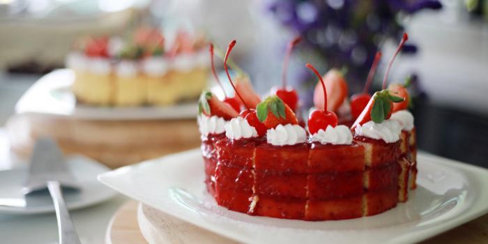 Sunday Brunch Desset Cakes from Dream Beach Club in Layan, Phuket, Thailand