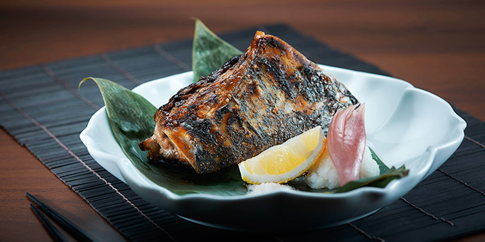 Grilled Tuna Cheek from Takujo at Marina Square in Promenade, Singapore