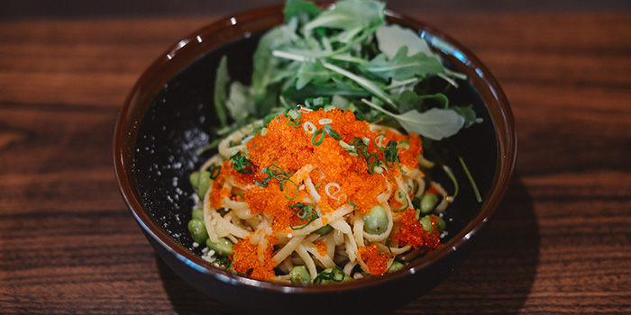 Miso Tobiko Pasta from The Belljar in Boat Quay, Singapore
