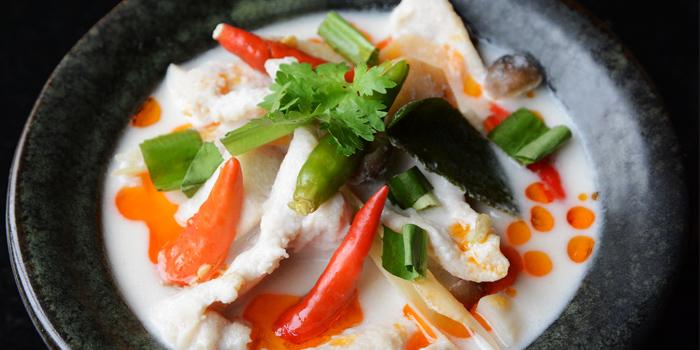 Tom Kha Gai from Smooth Curry at Plaza Athénée Bangkok, A Royal Meridien Hotel, Bangkok